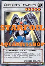 Yu-Gi-Oh! Guerriero Catapulta STARFOIL SP13-IT049 Catapult Warrior Fortissimo