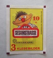 AMERICANA 1978 Sesamstrasse Sesame Street 1 x Tüte  RAR!
