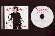 Super Rare JESSE MALIN HAND SIGNED Autograph CD Glitter In The Gutter UNPLAYED!