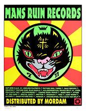 Man's Ruin Records 1996 Poster Gwar Kyuss Mono Men Frank Kozik S/N