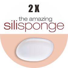 2 X Silisponge (Original!) Silicone Make-up Applicator • BPA Free • SGS tested