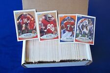 1990 FLEER FOOTBALL 400 CARDS SETWITH JOE MONTANA & JOHN ELWAY