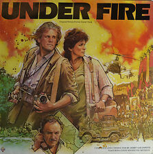 "UNDER FIRE - JERRY GOLDSMITH  12""  LP  (Q1)"