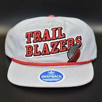 Portland Trail Blazers adidas NBA Retro Men's Adjustable Snapback Cap Hat