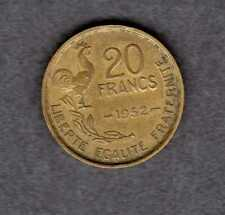 1952 French 20 franc coin
