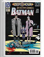 BATMAN DETECTIVE COMICS #678 ZERO HOUR