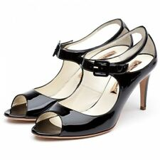 Mid Heel (1.5-3 in.) Patent Leather Casual Shoes for Women