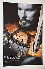 Christian Bale SIGNED 20x30cm esodo foto, AUTOGRAFO/Autograph in persona
