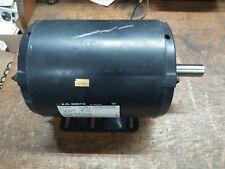 AO Smith 1HP Electric Motor 380/440VAC 3PH 1425/1725RPM Fr 50/60HZ 312P882