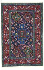 "Dollhouse Miniature Beautiful Woven Turkish Rug 4"" x 5"" ~ S110-125  NEW"