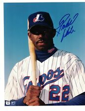 "Rondell White Montreal Expos Signed 8"" x 10"" Baseball Photo W/Our COA"