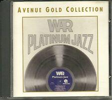 War Platinum Jazz 24 Karat Gold CD Avenue ohne Pappumhüllung (no Slipcase)