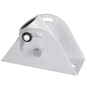 Chief  CMA395W Angled Ceiling Plate, White | Weight Capacity:226.8 kg