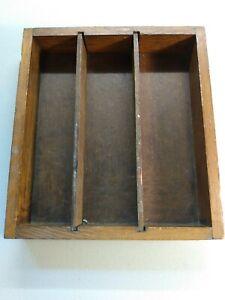 Wooden Drawer Organizer, Divided Storage Box! Old school divider.