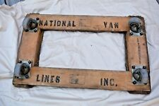 VTG TOTE MASTER Mover's Dolly Ball Bearing DURALL TOOL National Van Lines EUC