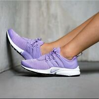 Nike Air Presto Running Sneakers Size 8 Women Urban Lilac Laces