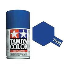 Tamiya TS-50 MICA BLUE Spray Paint Can 3 oz 100ml #85050 Mid-America Raceway