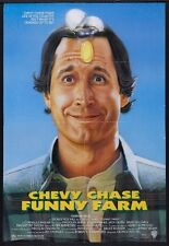 FUNNY FARM - 1988 - original 1-sheet movie poster - CHEVY CHASE in the country!