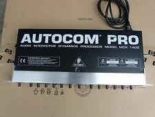 AUTOCOM PRO MDX 1400 AUDIO INTERACTIVE DYNAMIC PROCESSOR Behringer