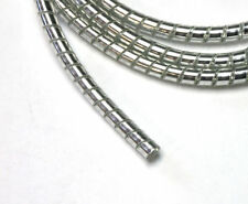 Chrome Spiral Cable Wrap Wire Tidy 6mm Motorcycle/Trike 1.5m Long