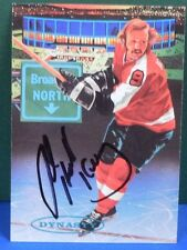 BOB KELLY signed 1993 Parkhurst hockey card # 477 PHILADELPHIA FLYERS