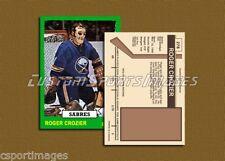 Roger Crozier - Buffalo Sabres - Custom Hockey Card  - 1972-73