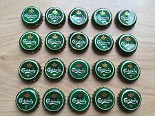 20 Beer Bottle Caps - Carlsberg
