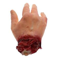 2015 Halloween Finger Severed Fake Bloody Hand Horror Prop Decoration Trick Toy