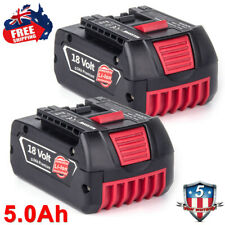 2 Packs BAT609 5.0Ah Replace for Bosch 18V Battery Lithium BAT609G BAT618 BAT619