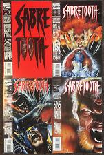 Marvel Comics Sabretooth Mini series complete set 1,2,3,4 NM