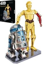 Metal Earth: ICONX Star Wars Gift Box - C-3PO & R2D2 Model Kit