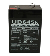6 Volts 4.5Ah -Terminal F1- SLA/AGM Battery - UB645 - D5733