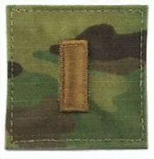US ARMY OCP Multicam Uniform Dienstgrad rank Klett patch Aufnäher 2ndLieutenant
