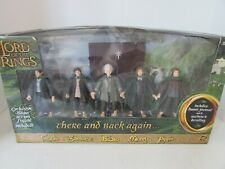 TOY BIZ 81365 LORD OF THE RINGS THERE AND BACK AGAIN 5 ACTION FIGURES MINT L237