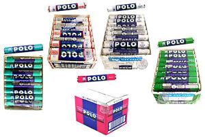 NESTLE POLO SUGAR FREE, ORIGINAL, SPEARMINT, FRUIT, MIX FLAVOR TUBES ORIGINAL