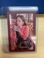 """K-POP TWICE Mini Album """"The Year Of Yes"""" Official NaYeon Photocard"""