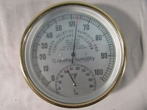 Abbeon West Germany Relative Humidity & Temperature Indicator Model M2A4
