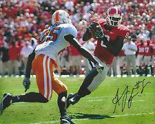 AJ Green Georgia Bulldogs Autographed 8x10 Photo vs Tennessee - Bengals All Pro