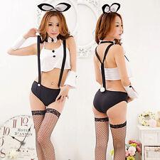 Sexy Bunny Rabbit Fancy Dress Suspenders Halloween Xmas Party Lady Cosplay New