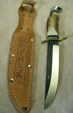 1970's~WILDCAT~B55X~SOLINGEN~UNUSED GERMAN STAG HUNTING KNIFE w/ORIGINAL SHEATH~