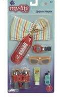 My Life As Lifeguard Play Set Fashion Doll Accessory  Beach 18 Inch Retired!!
