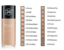 REVLON FOUNDATION w/PUMP 24 HR COLORSTAY