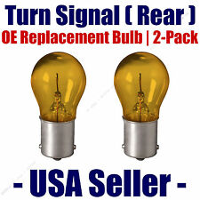 Rear Turn Signal Light Bulb 2-pack Fits Listed Mercedes-Benz Vehicles - 7507NA