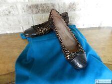 AEROSOLES Leopard Print Beckon Ballet Flat - Size 8M