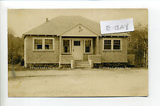 Norwell MA Mass RPPC real photo Artsy Crafts Building, early