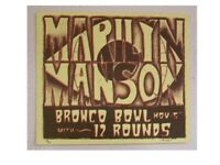 Marilyn Manson Eyeball Rodeo Poster Handbill