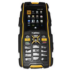 RugGear RG920 waterproof phone - Unlocked Mobile Phone (Black and Yellow)