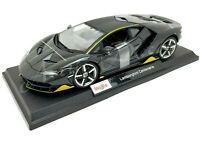 Maisto 2020 1:18 Special Edition Diecast Car - Charcoal Lamborghini Centenario
