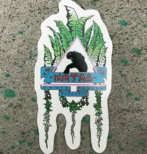 Sma - Santa Monica Airlines - Natas Leaves Skateboard Sticker - 10.5 cm