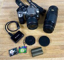 Canon EOS Rebel Digital Camera DS6041-2 Lenses-Battery-Works Great!